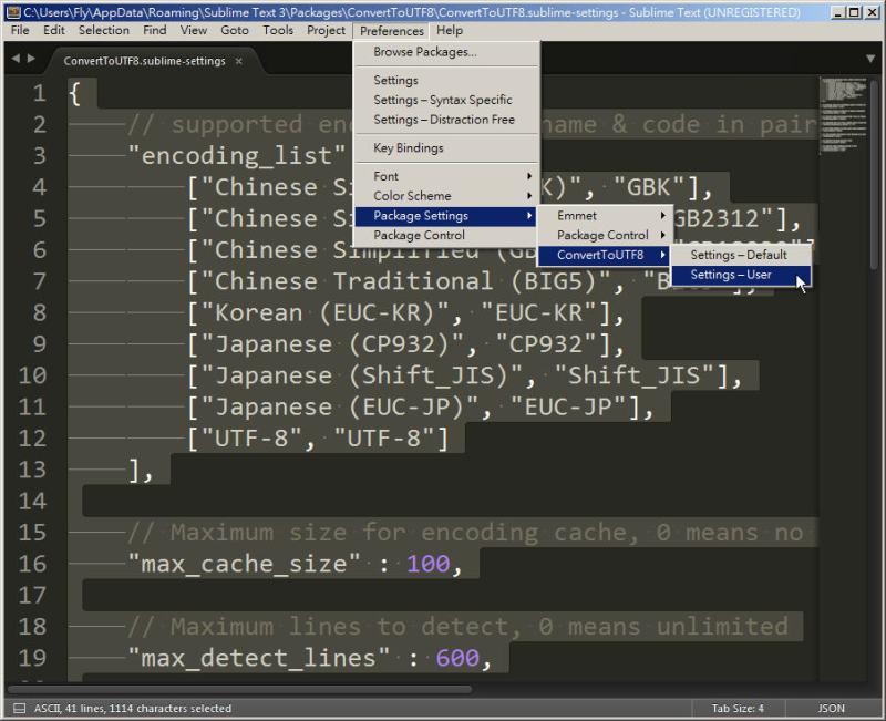 CSS 教學 - 網頁排版 Dreamweaver 網頁設計 Free Resource 好康報報 JavaScript 程式設計 RWD 響應式網頁  - 教學:Sublime Text 的安裝設定及入門操作 – [ 下篇 ] - Sub-17_3
