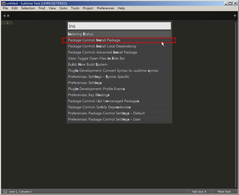 CSS 教學 - 網頁排版 Dreamweaver 網頁設計 Free Resource 好康報報 JavaScript 程式設計 RWD 響應式網頁  - 教學:Sublime Text 的安裝設定及入門操作 – [ 下篇 ] - sub-12