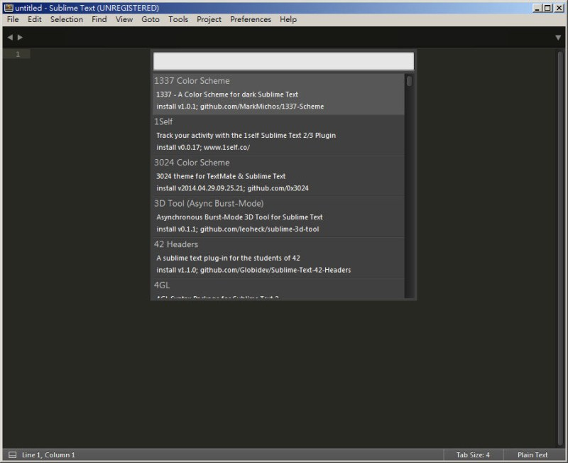 CSS 教學 - 網頁排版 Dreamweaver 網頁設計 Free Resource 好康報報 JavaScript 程式設計 RWD 響應式網頁  - 教學:Sublime Text 的安裝設定及入門操作 – [ 下篇 ] - sub-13