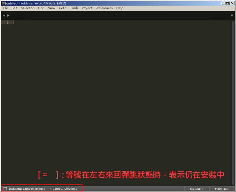 CSS 教學 - 網頁排版 Dreamweaver 網頁設計 Free Resource 好康報報 JavaScript 程式設計 RWD 響應式網頁  - 教學:Sublime Text 的安裝設定及入門操作 – [ 下篇 ] - sub-15