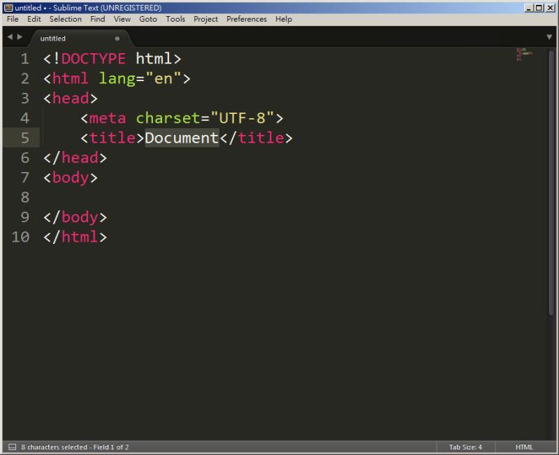 CSS 教學 - 網頁排版 Dreamweaver 網頁設計 Free Resource 好康報報 JavaScript 程式設計 RWD 響應式網頁  - 教學:Sublime Text 的安裝設定及入門操作 – [ 下篇 ] - Sub-21