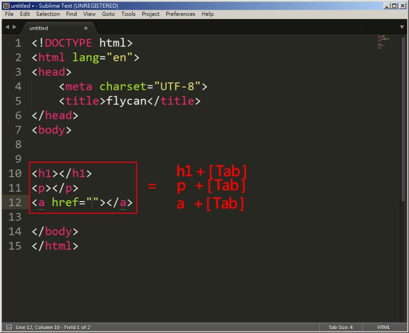 CSS 教學 - 網頁排版 Dreamweaver 網頁設計 Free Resource 好康報報 JavaScript 程式設計 RWD 響應式網頁  - 教學:Sublime Text 的安裝設定及入門操作 – [ 下篇 ] - Sub-24