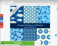 藍白pattern-1