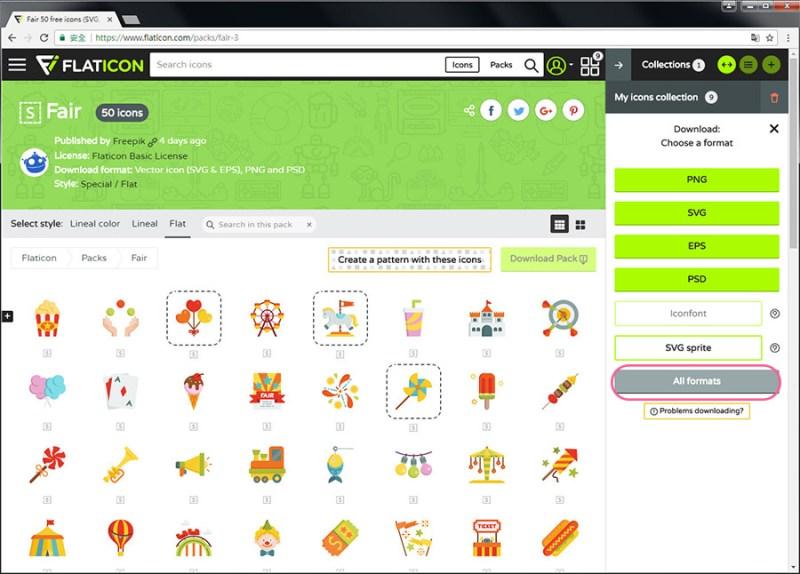 Free Resource 好康報報 Good Design 好站報報  - 【設計資源】FLATICON-自行挑選icon打包免費下載-還可線上製作Patterns! - flaticon-14-1