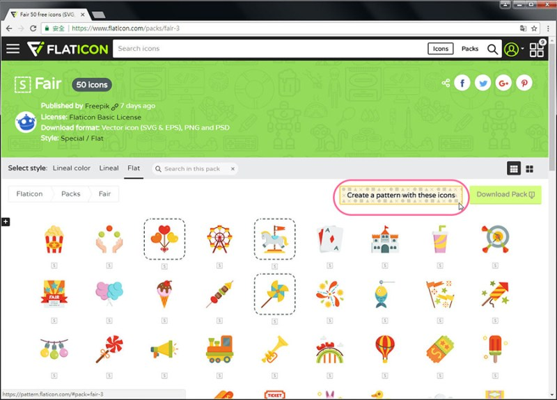 Free Resource 好康報報 Good Design 好站報報  - 【設計資源】FLATICON-自行挑選icon打包免費下載-還可線上製作Patterns! - flaticon-18