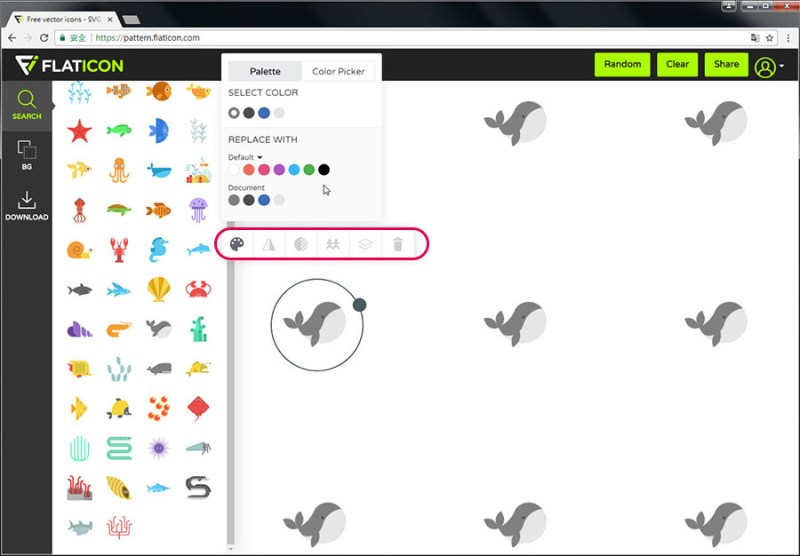 Free Resource 好康報報 Good Design 好站報報  - 【設計資源】FLATICON-自行挑選icon打包免費下載-還可線上製作Patterns! - flaticon-4-1