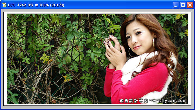 Photoshop 後製修圖  - Photoshop 教學 - 色調分離 - 復古風格、網線效果、網點效果 - flycan_0001_766