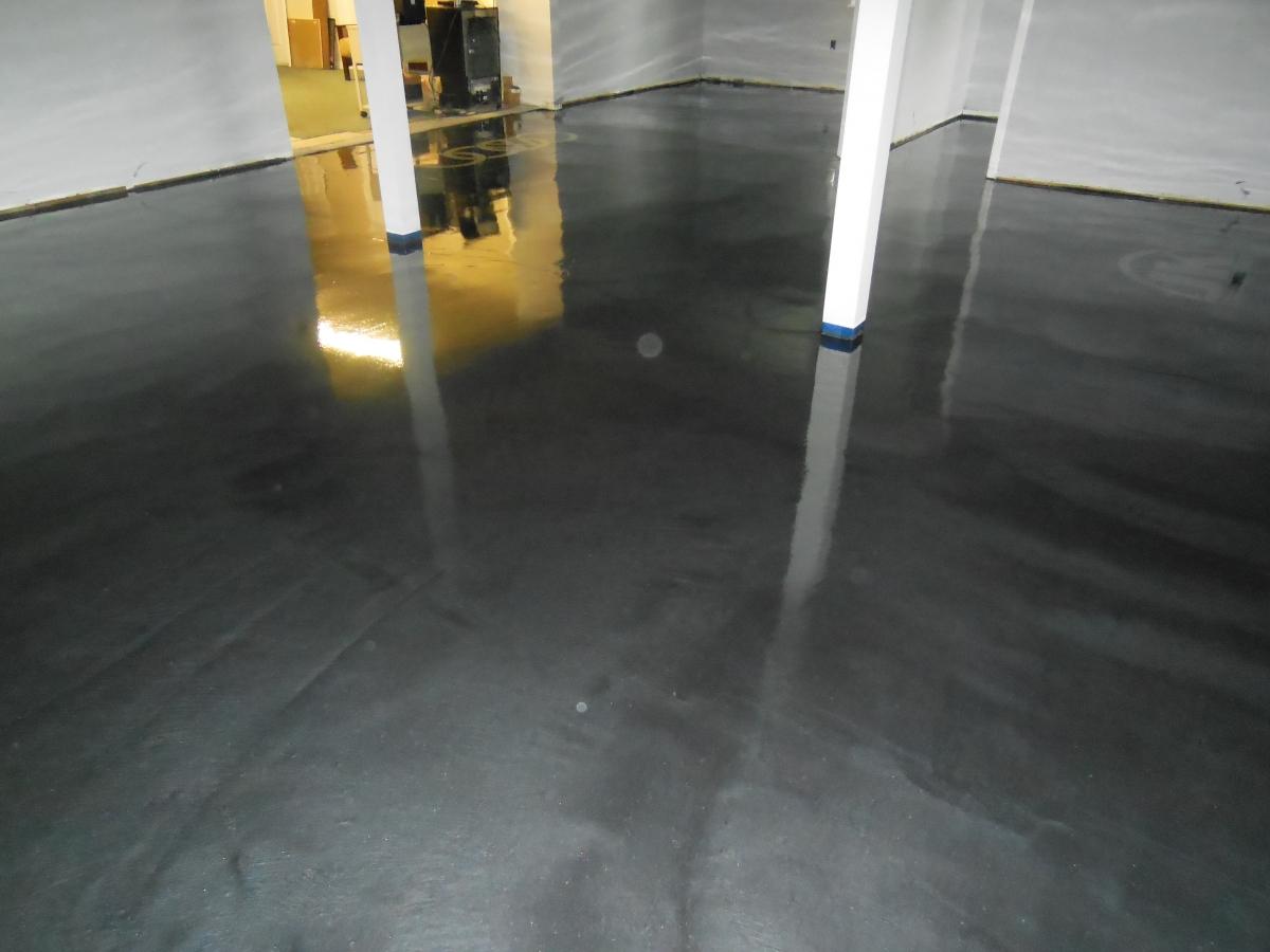 Concrete Floor In House