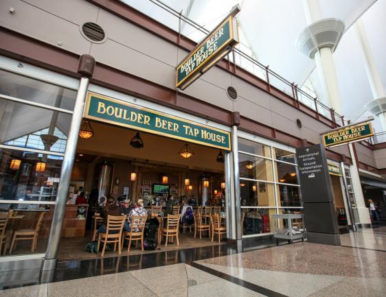 Boulder Beer Tap House  Denver International Airport