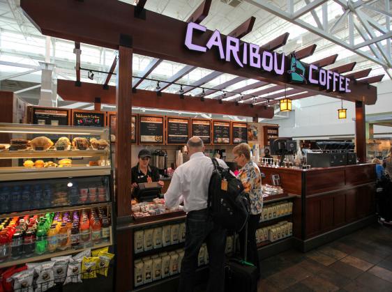 Caribou Coffee Denver International Airport