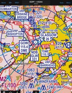 Garmin pilot uk vfr chart also charts for app flyer rh