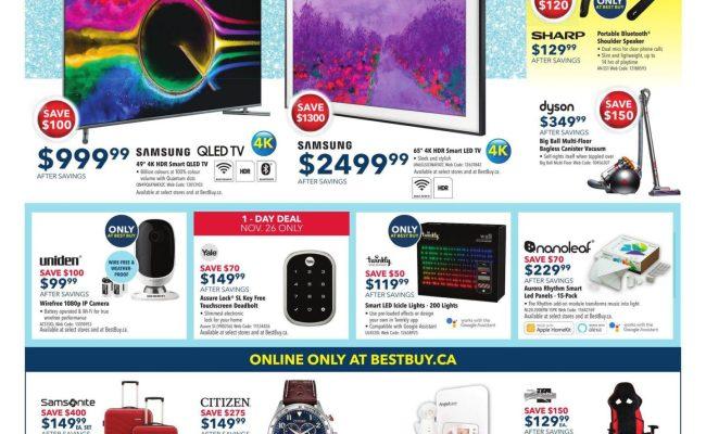 Best Buy Cyber Monday 2019 Canada Deals