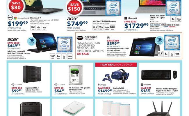 Best Buy Cyber Monday 2018 Canada Deals