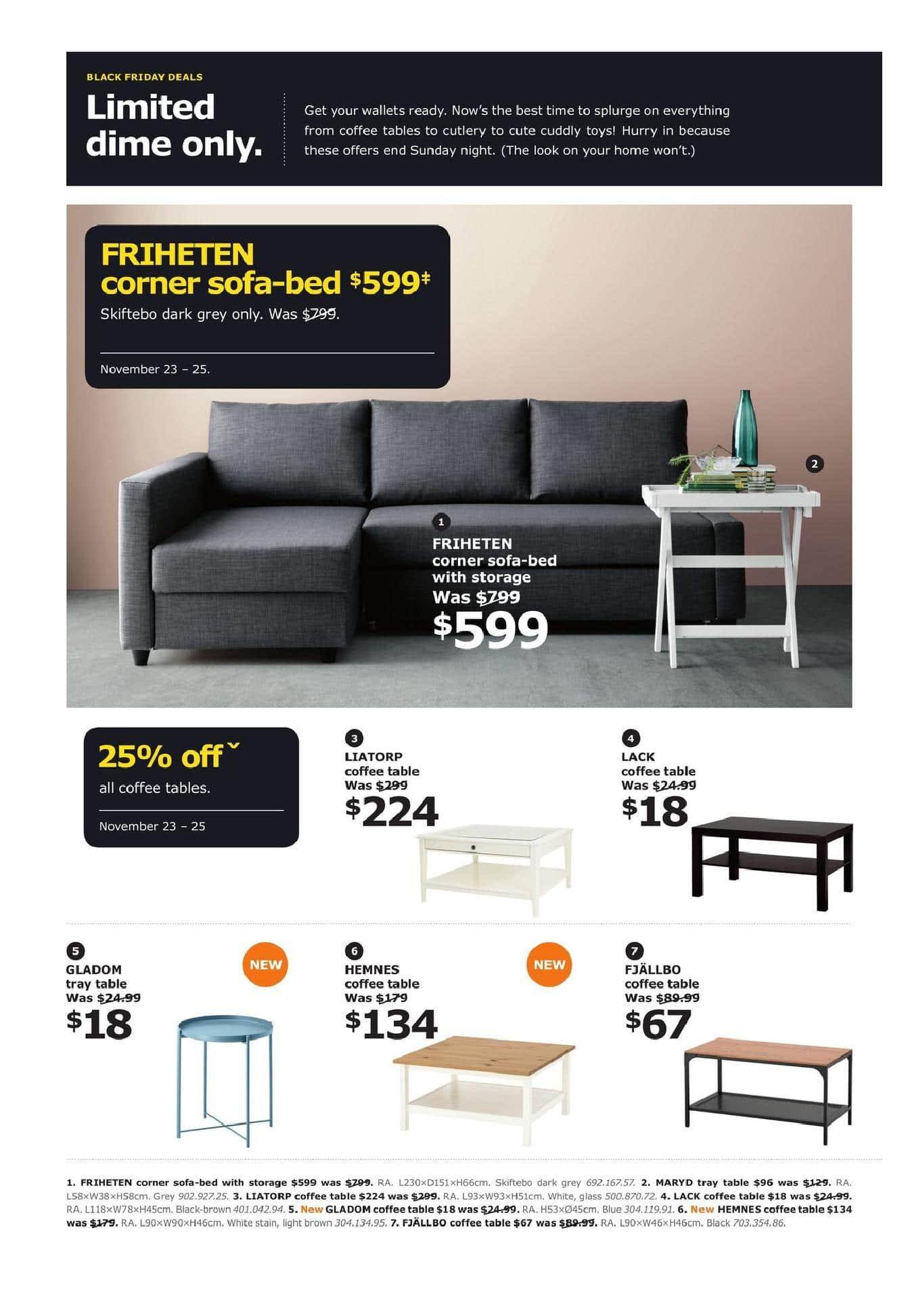 Ikea Black Friday Canada 2019 Sale Flyer