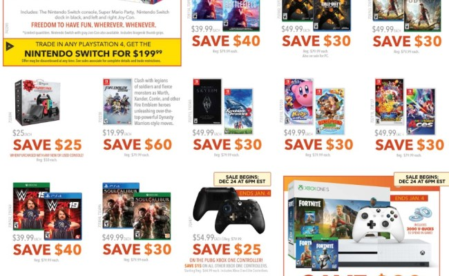 Eb Games Boxing Day Sale Flyer 2019
