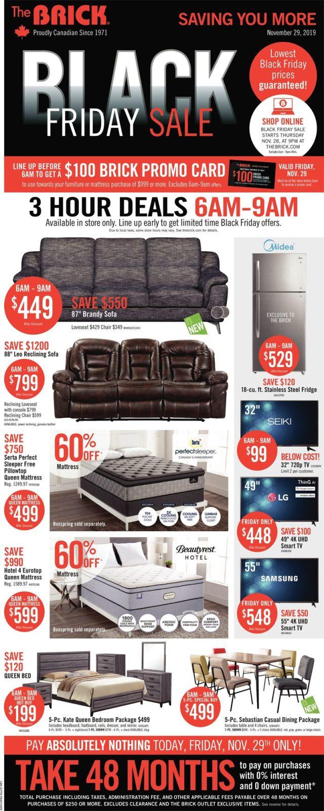 black friday furniture vancouver