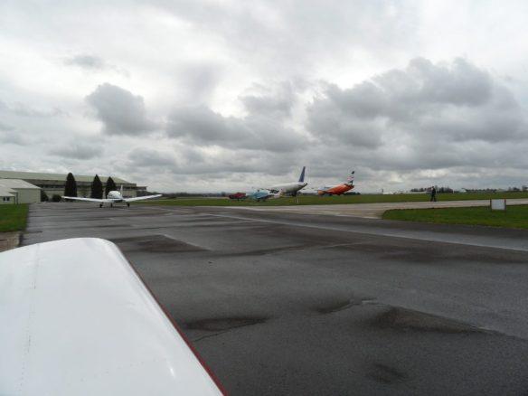 SNUZ departs for a flight