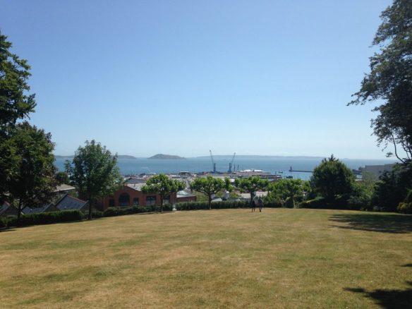 Overlooking St Peter Port