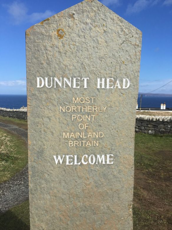 Dunnet Head - northernmost point on the mainland