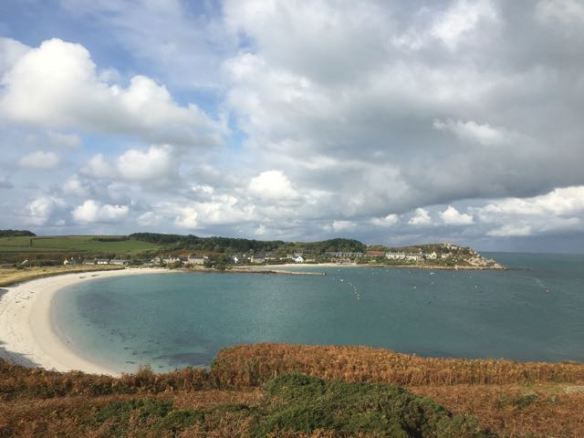 View of Tresco north east bay