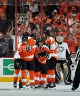 FLYERS VS DEVILS 4 1 17 ICE ROW ON GLASS LOADED TIXS SECTION 123 TWO TIXS
