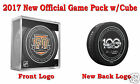 2017 Philadelphia Flyers 50th Official Hockey Game Puck New Back Logo w Cube