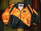 Vintage 90s Philadelphia Flyer Pro Player Windbreaker Jacket L Hockey NHL Orange