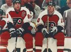 ERIC LINDROS  JOHN LECLAIR 8X10 PHOTO PHILADELPHIA FLYERS NHL PICTURE HOCKEY