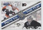 2012 13 Panini Certified PCQF47 Marc Andre Fleury Scott Hartnell Hockey Card