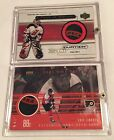 Eric Lindros 98 99 Upper Deck MVP Game Used Puck Card 2 COLOR