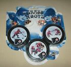 NHL Hockey Philadelphia Flyers Collector Puck and Pin Set Grass Roots