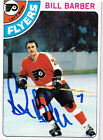 1978 79 Topps Hockey 176 Bill Barber SIGNED card