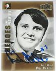 BILL BARBER SIGNED ITG HEROES PHILADELPHIA FLYERS CARD AUTOGRAPH AUTO