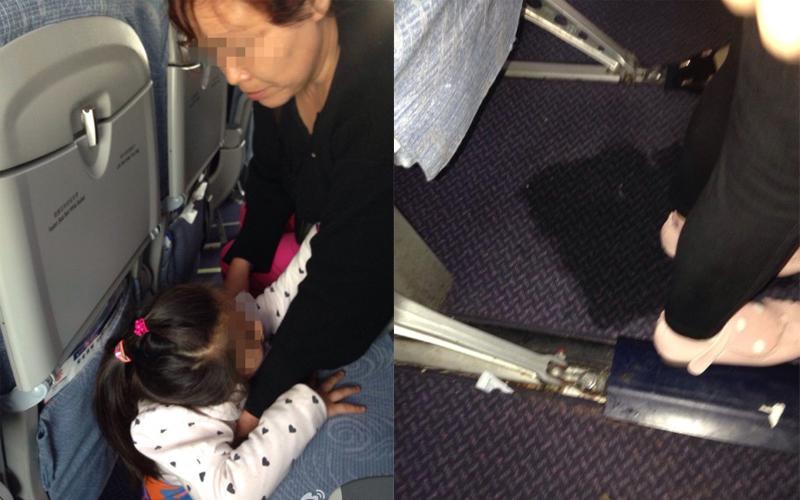 Grandmother Lets Child Urinate on Plane Floor  FlyerTalk