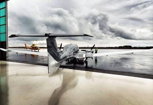 FlyEurop's DA62 ready to fly