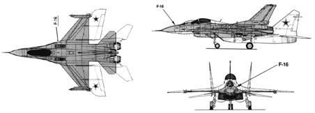 MiG-29 vs. F-16