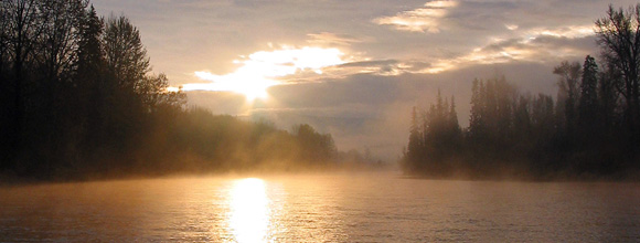 Bulkley River at Sunrise :: Flyfishers' Arte