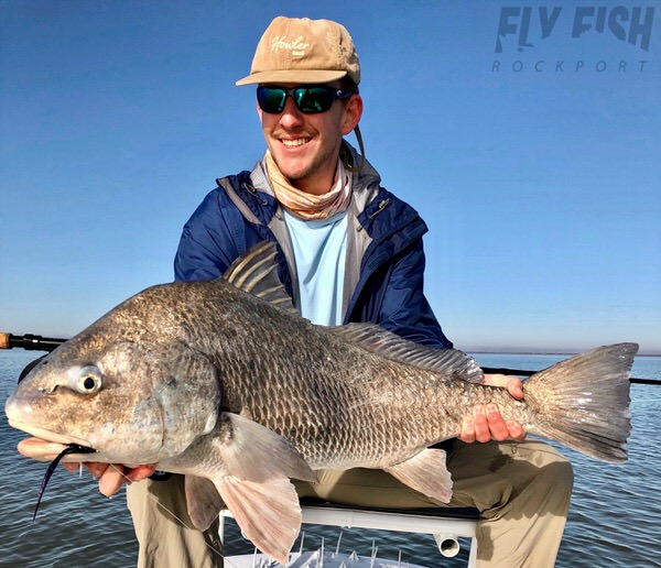 Fly Fishing Black Drum