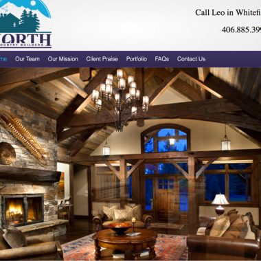 North Country Builders – A Website Remodel