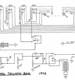 gibson les paul triumph bass circuitry and wiring information rh flyguitars com 1959 gibson les paul wiring diagram for guitar 2012 gibson les paul studio  [ 1110 x 960 Pixel ]