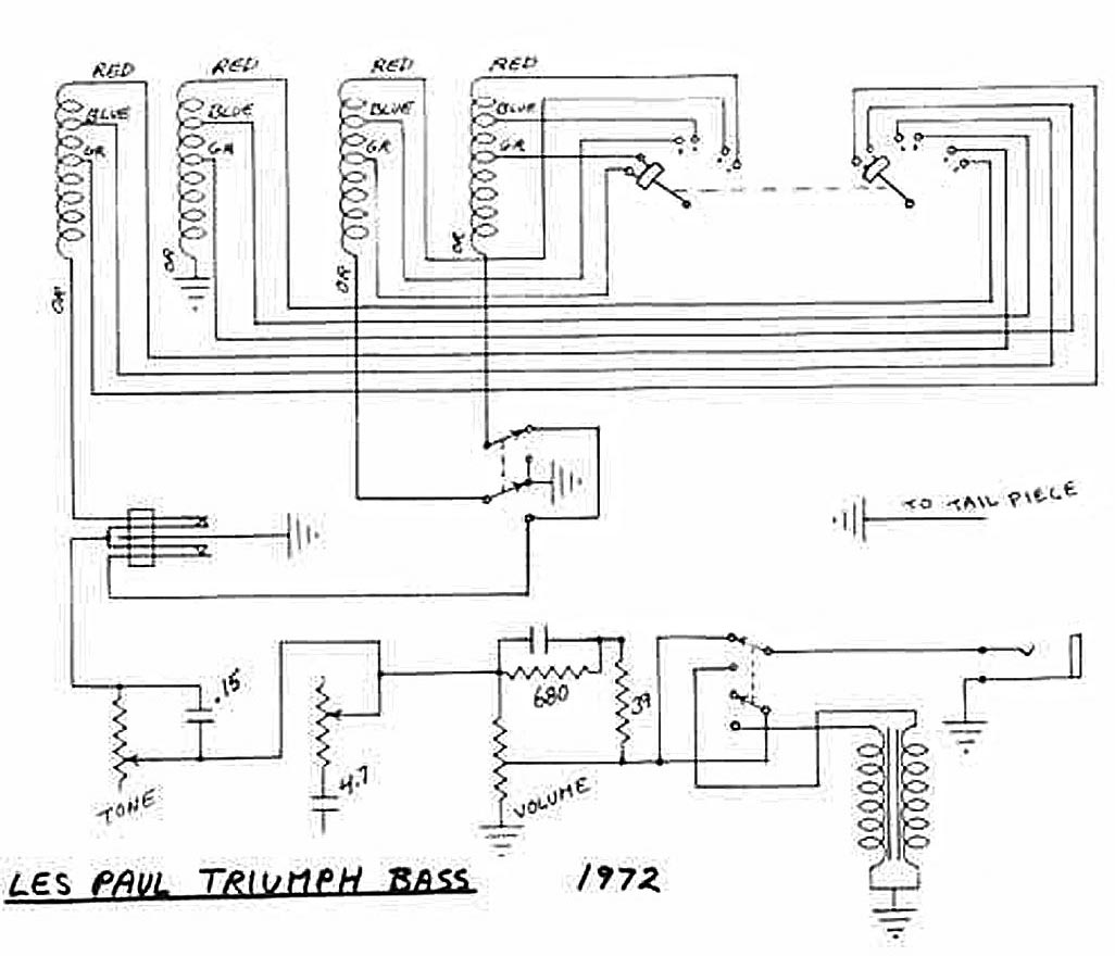 hight resolution of gibson les paul triumph bass circuitry and wiring information rh flyguitars com 1959 gibson les paul wiring diagram for guitar 2012 gibson les paul studio