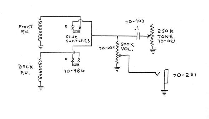 gibson sb300 and sb400 wiring diagram and photos  flyguitars