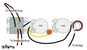 Gibson SB300 and SB400 Wiring Diagram and Photos >> FlyGuitars