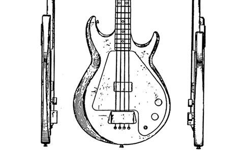 Gibson Grabber Design Patent: Des. 239,052 >> FlyGuitars
