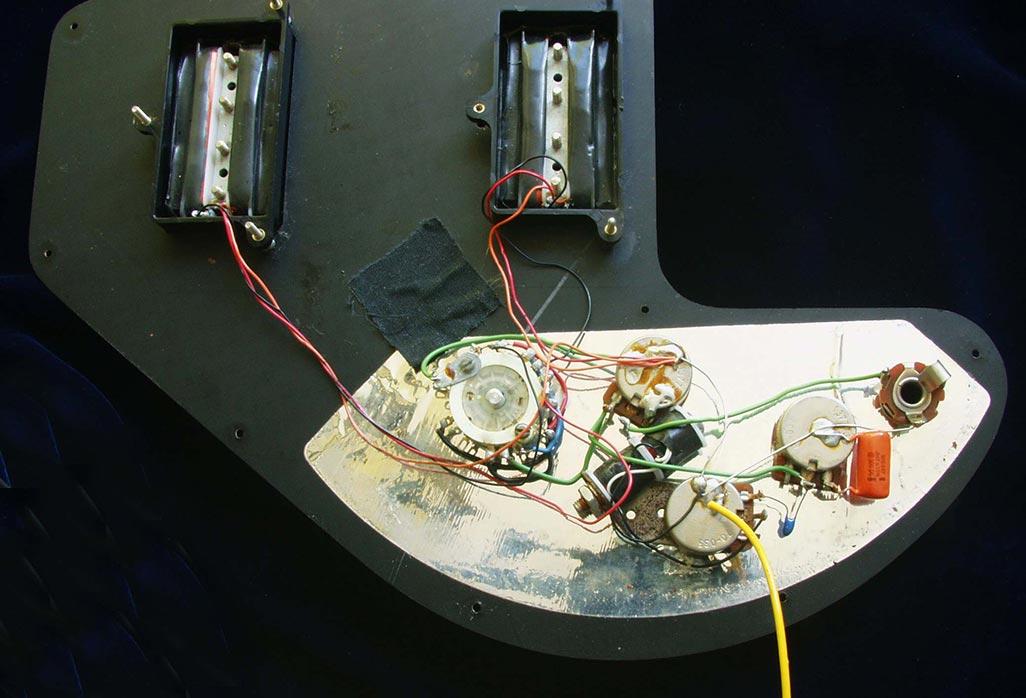 vintage les paul wiring diagram for garage door opener sensors gibson ripper bass circuit photographs >> flyguitars