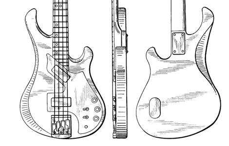 Gibson Victory bass design patent, no. 269,524 >> FlyGuitars