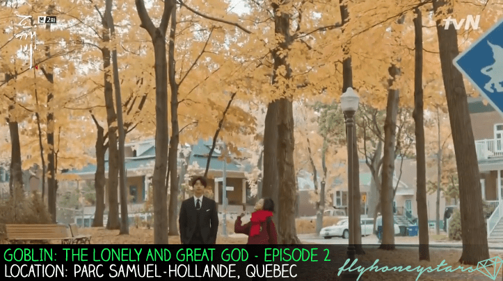 goblin drama location maple leaf parc samuel hollande quebec