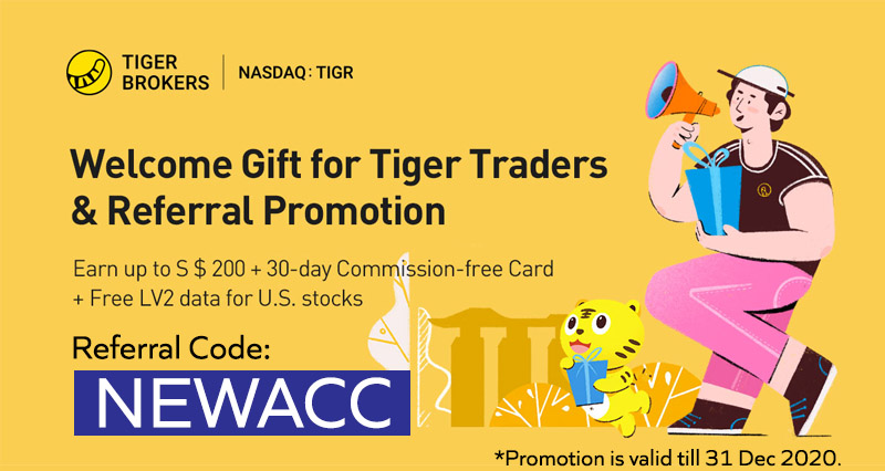 Tiger Brokers Referral Code
