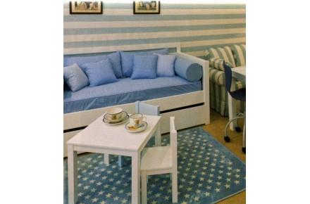 tapis chambre denfant etoiles