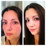 Avant/après: le maquillage anti fatigue, presque tuto dedans!